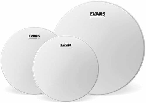 Evans G2 10, 12, 14 inch Fusion Tom Pack - Coated - ETP-G2CTD-F